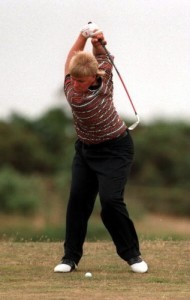 Over Swing- Only the superhumans like Jon Daly can pull this off. KIDS DONT TRY THIS AT HOME