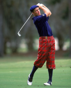 31 Oct 1999: Stuart Appleby follows his drive during The Tour Championship at the Champions Golf Club in Houston, Texas. Mandatory Credit: Harry How /Allsport